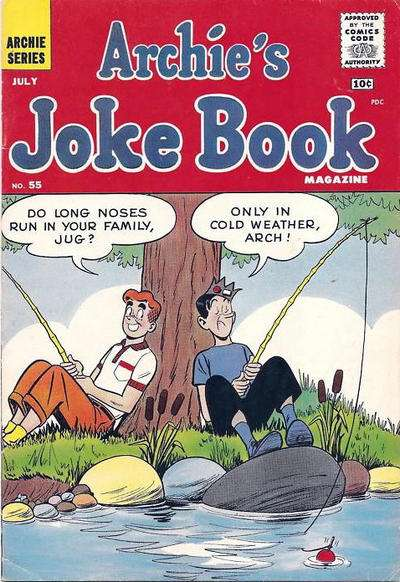Archie's Joke Book Magazine #55 Comic Books - Covers, Scans, Photos  in Archie's Joke Book Magazine Comic Books - Covers, Scans, Gallery