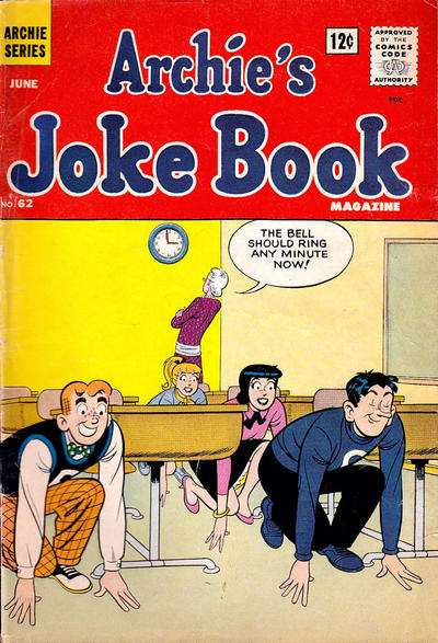 Archie's Joke Book Magazine #62 comic books - cover scans photos Archie's Joke Book Magazine #62 comic books - covers, picture gallery