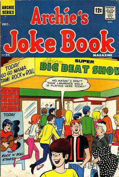 Archie's Joke Book Magazine #95 comic books - cover scans photos Archie's Joke Book Magazine #95 comic books - covers, picture gallery