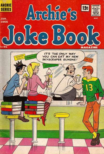 Archie's Joke Book Magazine #96 Comic Books - Covers, Scans, Photos  in Archie's Joke Book Magazine Comic Books - Covers, Scans, Gallery