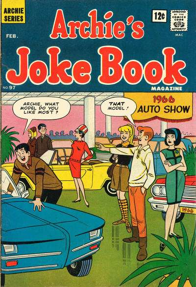 Archie's Joke Book Magazine #97 Comic Books - Covers, Scans, Photos  in Archie's Joke Book Magazine Comic Books - Covers, Scans, Gallery