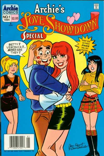 Archie's Love Showdown Special Comic Books. Archie's Love Showdown Special Comics.