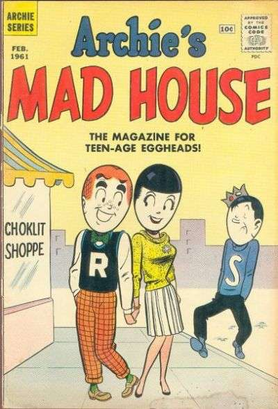 Archie's Madhouse #10 Comic Books - Covers, Scans, Photos  in Archie's Madhouse Comic Books - Covers, Scans, Gallery