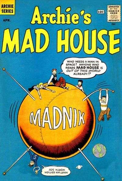 Archie's Madhouse #11 Comic Books - Covers, Scans, Photos  in Archie's Madhouse Comic Books - Covers, Scans, Gallery
