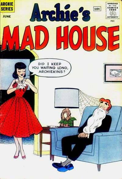 Archie's Madhouse #12 Comic Books - Covers, Scans, Photos  in Archie's Madhouse Comic Books - Covers, Scans, Gallery