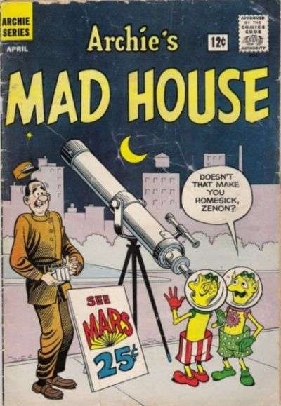 Archie's Madhouse #18 Comic Books - Covers, Scans, Photos  in Archie's Madhouse Comic Books - Covers, Scans, Gallery