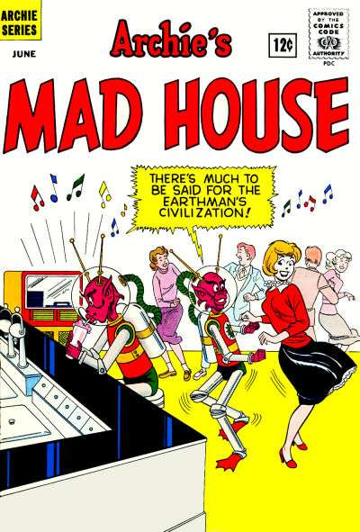 Archie's Madhouse #19 comic books for sale