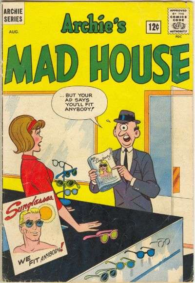 Archie's Madhouse #20 Comic Books - Covers, Scans, Photos  in Archie's Madhouse Comic Books - Covers, Scans, Gallery