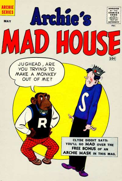 Archie's Madhouse #5 Comic Books - Covers, Scans, Photos  in Archie's Madhouse Comic Books - Covers, Scans, Gallery