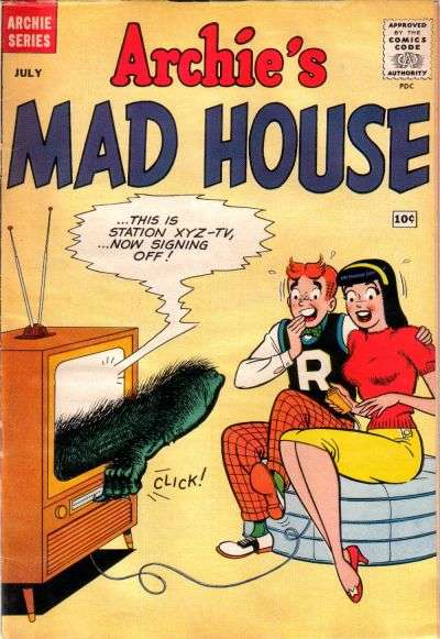Archie's Madhouse #6 Comic Books - Covers, Scans, Photos  in Archie's Madhouse Comic Books - Covers, Scans, Gallery