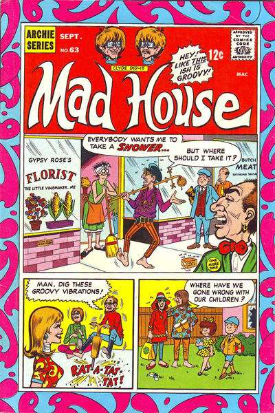 Archie's Madhouse #63 comic books for sale