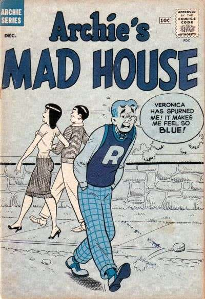 Archie's Madhouse #9 Comic Books - Covers, Scans, Photos  in Archie's Madhouse Comic Books - Covers, Scans, Gallery