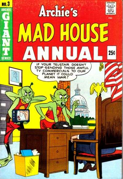 Archie's Madhouse #3 comic books for sale