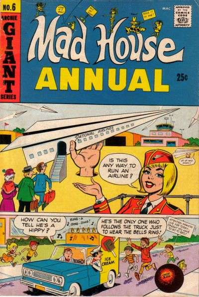 Archie's Madhouse #6 comic books for sale