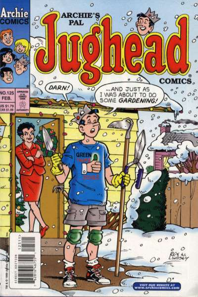 Archie's Pal Jughead Comics #125 comic books for sale