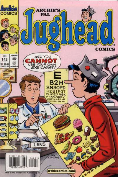 Archie's Pal Jughead Comics #142 comic books for sale