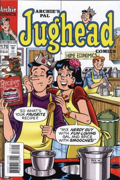 Archie's Pal Jughead Comics #170 Comic Books - Covers, Scans, Photos  in Archie's Pal Jughead Comics Comic Books - Covers, Scans, Gallery
