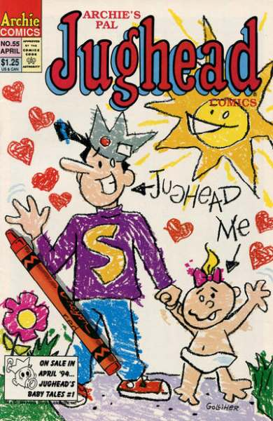Archie's Pal Jughead Comics #55 Comic Books - Covers, Scans, Photos  in Archie's Pal Jughead Comics Comic Books - Covers, Scans, Gallery