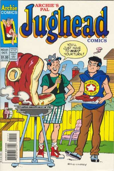 Archie's Pal Jughead Comics #61 Comic Books - Covers, Scans, Photos  in Archie's Pal Jughead Comics Comic Books - Covers, Scans, Gallery