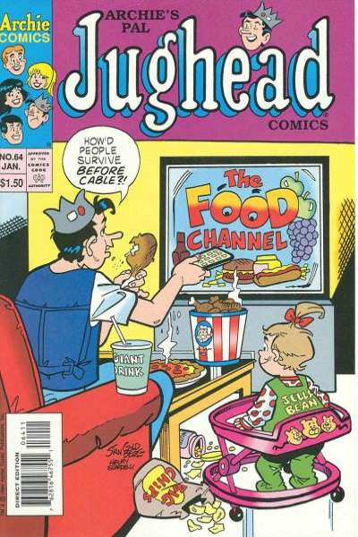Archie's Pal Jughead Comics #64 Comic Books - Covers, Scans, Photos  in Archie's Pal Jughead Comics Comic Books - Covers, Scans, Gallery