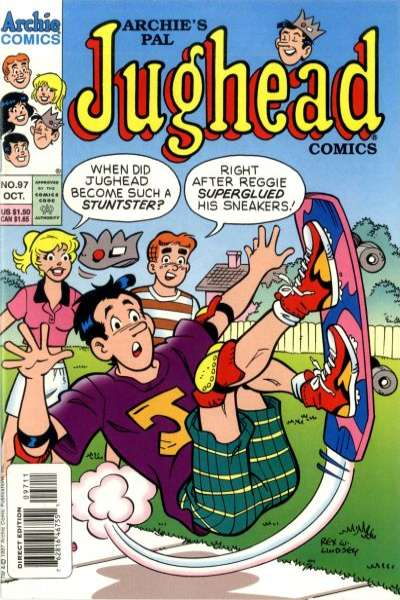 Archie's Pal Jughead Comics #97 Comic Books - Covers, Scans, Photos  in Archie's Pal Jughead Comics Comic Books - Covers, Scans, Gallery
