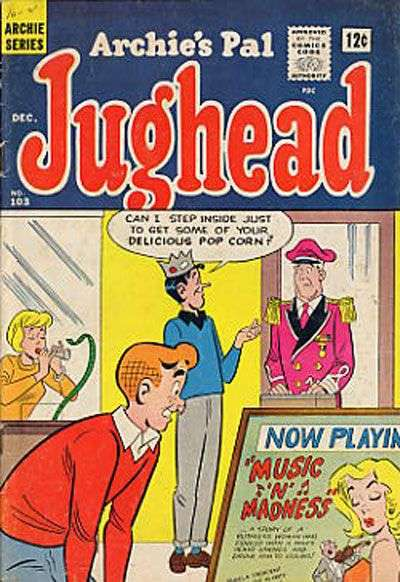 Archie's Pal: Jughead #103 Comic Books - Covers, Scans, Photos  in Archie's Pal: Jughead Comic Books - Covers, Scans, Gallery