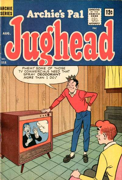 Archie's Pal: Jughead #111 Comic Books - Covers, Scans, Photos  in Archie's Pal: Jughead Comic Books - Covers, Scans, Gallery