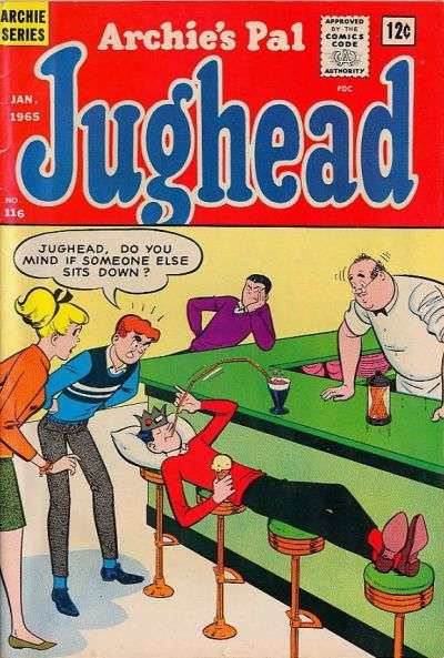 Archie's Pal: Jughead #116 comic books for sale