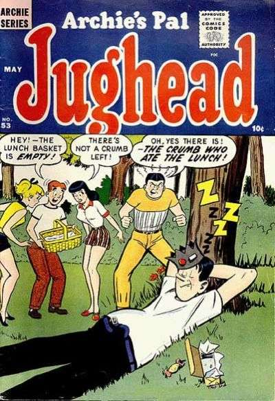 Archie's Pal: Jughead #53 comic books - cover scans photos Archie's Pal: Jughead #53 comic books - covers, picture gallery