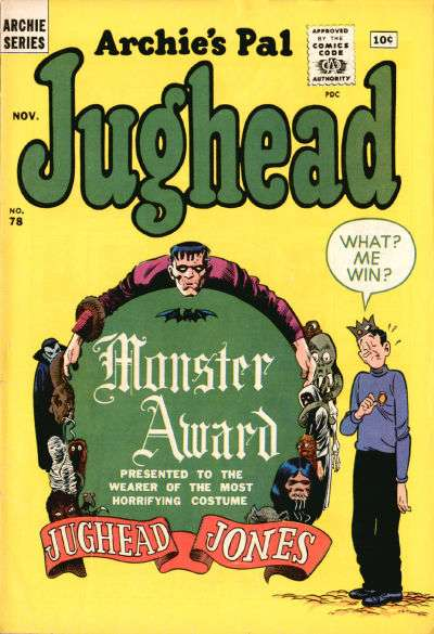 Archie's Pal: Jughead #78 comic books for sale