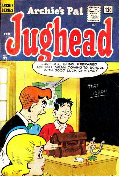 Archie's Pal: Jughead #93 Comic Books - Covers, Scans, Photos  in Archie's Pal: Jughead Comic Books - Covers, Scans, Gallery