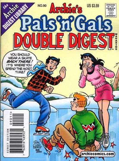 Archie's Pals 'N' Gals Double Digest #90 comic books for sale