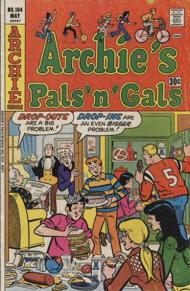 Archie's Pals 'N' Gals #104 comic books for sale