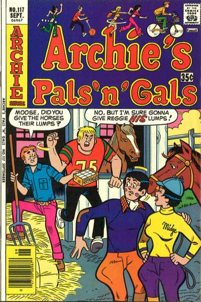 Archie's Pals 'N' Gals #117 comic books for sale