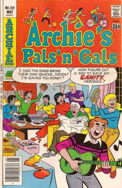 Archie's Pals 'N' Gals #122 comic books for sale