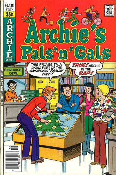Archie's Pals 'N' Gals #128 comic books for sale