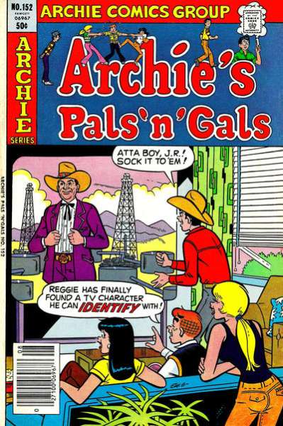 Archie's Pals 'N' Gals #152 comic books for sale