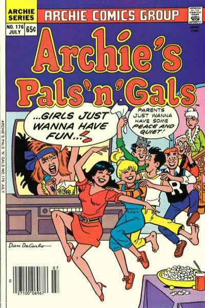 Archie's Pals 'N' Gals #176 comic books for sale