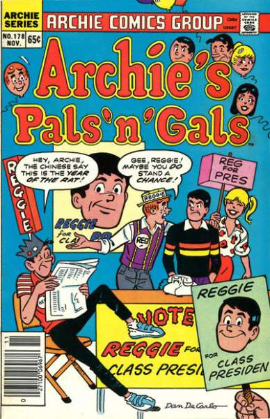 Archie's Pals 'N' Gals #178 comic books for sale