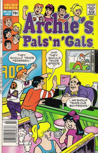 Archie's Pals 'N' Gals #189 comic books for sale