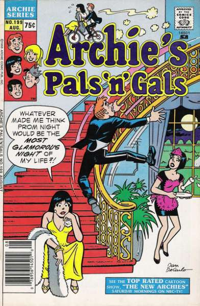 Archie's Pals 'N' Gals #199 comic books for sale