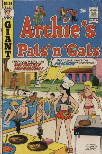 Archie's Pals 'N' Gals #79 comic books for sale