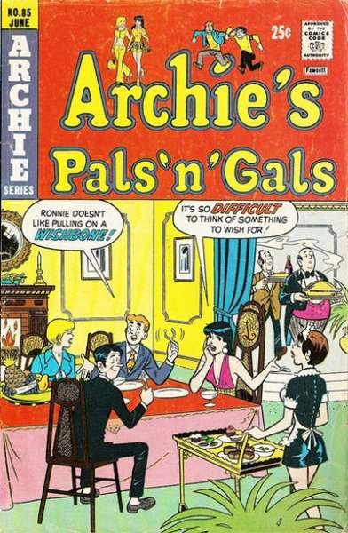 Archie's Pals 'N' Gals #85 comic books for sale