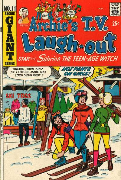 Archie's TV Laugh-Out #11 Comic Books - Covers, Scans, Photos  in Archie's TV Laugh-Out Comic Books - Covers, Scans, Gallery