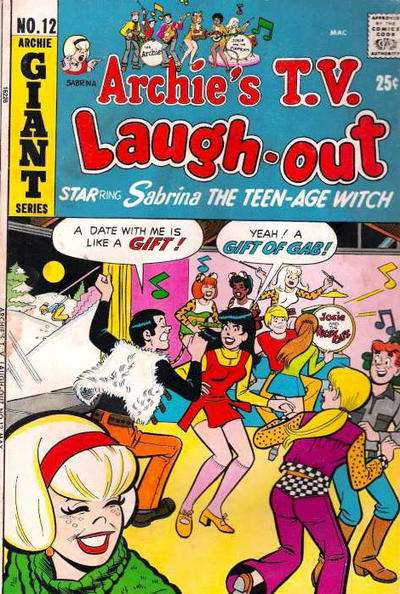 Archie's TV Laugh-Out #12 comic books - cover scans photos Archie's TV Laugh-Out #12 comic books - covers, picture gallery