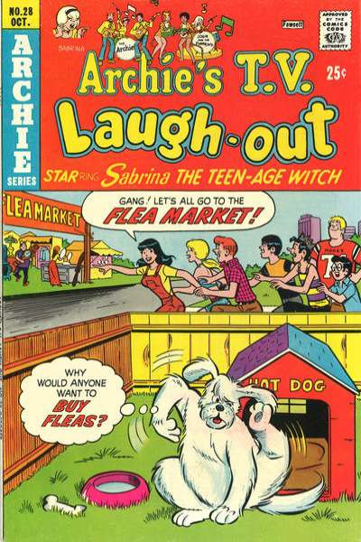 Archie's TV Laugh-Out #28 Comic Books - Covers, Scans, Photos  in Archie's TV Laugh-Out Comic Books - Covers, Scans, Gallery