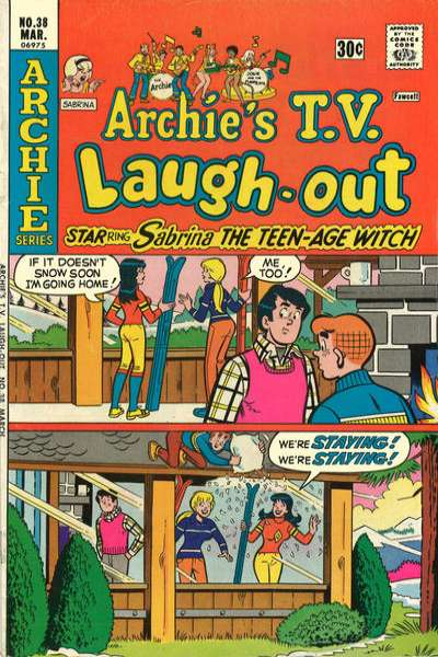 Archie's TV Laugh-Out #38 Comic Books - Covers, Scans, Photos  in Archie's TV Laugh-Out Comic Books - Covers, Scans, Gallery