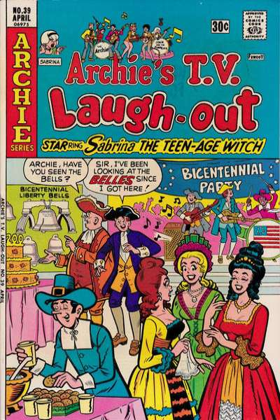 Archie's TV Laugh-Out #39 Comic Books - Covers, Scans, Photos  in Archie's TV Laugh-Out Comic Books - Covers, Scans, Gallery