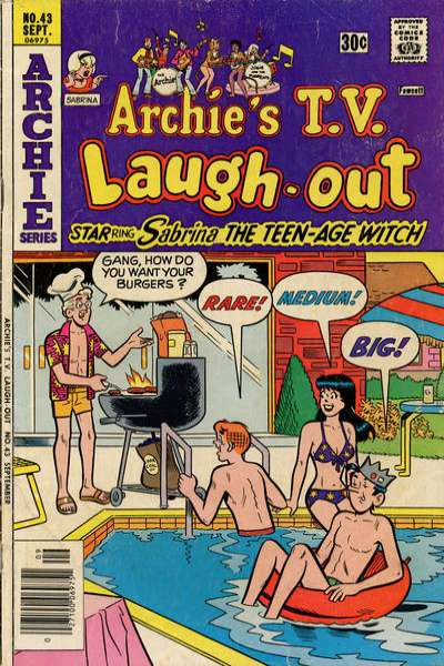 Archie's TV Laugh-Out #43 Comic Books - Covers, Scans, Photos  in Archie's TV Laugh-Out Comic Books - Covers, Scans, Gallery