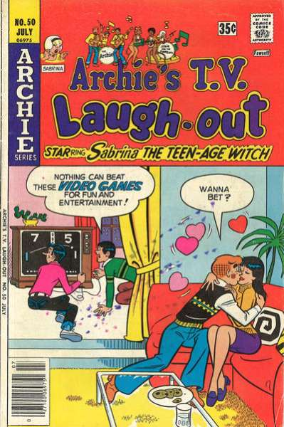 Archie's TV Laugh-Out #50 comic books - cover scans photos Archie's TV Laugh-Out #50 comic books - covers, picture gallery